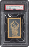 Baseball Cards:Singles (1930-1939), 1933 Uncle Jacks Candy Unopened Pack George Earnshaw PSA EX-MT 6. ...