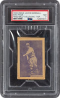 Baseball Cards:Singles (1930-1939), 1933 Uncle Jacks Candy Unopened Pack Bill Hallahan PSA NM 7. ...