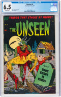 Golden Age (1938-1955):Horror, The Unseen #9 (Standard, 1953) CGC FN+ 6.5 Off-white pages....
