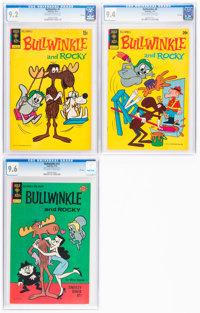 Bullwinkle #5, 8, and 13 CGC-Graded File Copies Group (Gold Key, 1972-76).... (Total: 3 Comic Books)