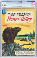 Golden Age (1938-1955):Miscellaneous, Four Color #625 Beaver Valley (Dell, 1955) CGC NM 9.4 Off-white to white pages....