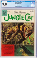 Silver Age (1956-1969):Adventure, Four Color #1136 Jungle Cat (Dell, 1960) CGC VF/NM 9.0 Off-white to white pages....