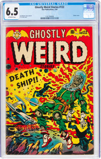 Ghostly Weird Stories #122 (Star Publications, 1954) CGC FN+ 6.5 Off-white pages