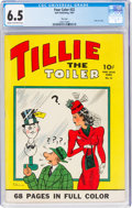 Golden Age (1938-1955):Adventure, Four Color #22 Tillie the Toiler - File Copy (Dell, 1943) CGC FN+ 6.5 Cream to off-white pages....