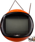 "Music Memorabilia:Memorabilia, Keith Moon/ The Who Owned JVC ""Spaceman"" Television. ..."