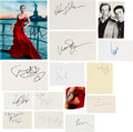 Movie/TV Memorabilia:Autographs and Signed Items, The Hunger Games Film Franchise Autograph Collection (15). ...