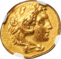 Ancients:Greek, Ancients: CALABRIA. Tarentum. Ca. 280 BC. AV half-stater (16mm, 4.24 gm, 9h). NGC XF 5/5 - 4/5, Fine Style....