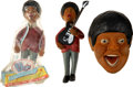 Music Memorabilia:Memorabilia, The Beatles Paul McCartney Bendy Toy in Pkg, Paul out of pkg, Prototype Head (3) (UK, circa 1960s). ... (Total: 3 Items)