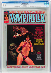Vampirella #37 (Warren, 1974) CGC NM/MT 9.8 White pages