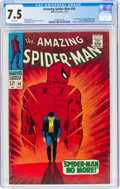 Silver Age (1956-1969):Superhero, The Amazing Spider-Man #50 (Marvel, 1967) CGC VF- 7.5 White pages....
