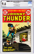 Bronze Age (1970-1979):Western, Johnny Thunder #1 Murphy Anderson File Copy (DC, 1973) CGC NM+ 9.6 Off-white to white pages....