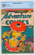 Golden Age (1938-1955):Superhero, Adventure Comics #81 (DC, 1942) CBCS VG/FN 5.0 Off-white to white pages....