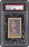 Baseball Cards:Singles (1930-1939), 1933 Uncle Jacks Candy Unopened Pack Chuck Klein PSA EX 5. ...