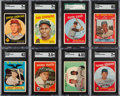 Baseball Cards:Sets, 1959 Topps Baseball Near Set (566/572)....
