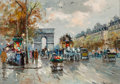 Paintings, Antoine Blanchard (French, 1910-1988). L'Etoile. Oil on canvas. 13 x 18-1/4 inches (33.0 x 46.4 cm). Signed lower right:...