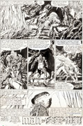 Original Comic Art:Panel Pages, John Byrne Fantastic Four #248 Story Page 22 Original Art (Marvel, 1982)....