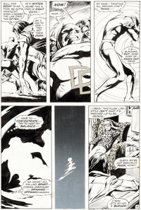 Gene Colan and Tom Palmer Daredevil #78 Story Page 19 Original Art (Marvel Comics, 1971)
