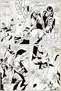 John Buscema and Sal Buscema Silver Surfer #7 Story Page 35 Original Art (Marvel, 1969)