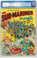 Golden Age (1938-1955):Superhero, Sub-Mariner Comics #1 Larson Pedigree (Timely, 1941) CGC VF/NM 9.0 Off-white to white pages....