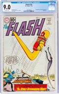Silver Age (1956-1969):Superhero, The Flash #124 (DC, 1961) CGC VF/NM 9.0 Off-white pages....