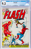 Silver Age (1956-1969):Superhero, The Flash #129 (DC, 1962) CGC NM- 9.2 Off-white to white p...