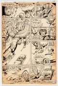"Original Comic Art:Panel Pages, Murphy Anderson Detective Comics #480 ""Hawkman"" Story Page 5 Original Art (DC Comics, 1978). ..."