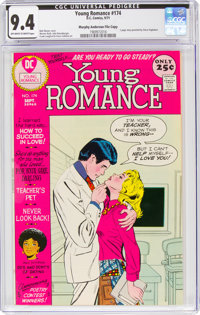 Young Romance #174 Murphy Anderson File Copy (DC, 1971) CGC NM 9.4 Off-white to white pages