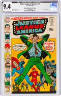 Silver Age (1956-1969):Superhero, Justice League of America #77 Murphy Anderson File Copy (DC, 1969) CGC NM 9.4 White pages....