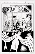 Original Comic Art:Panel Pages, Mark Bagley and Andrew Hennessy Venom: First Host #5 Story Page 20 Original Art (Marvel Comics, 2018)....