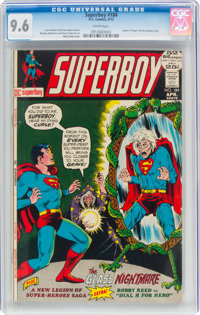 Superboy #184 (DC, 1972) CGC NM+ 9.6 White pages