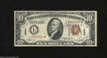 Small Size:World War II Emergency Notes, Fr. 2303* $10 1934-A Hawaii Federal Reserve Note. Fine-VeryFine....