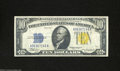 Small Size:World War II Emergency Notes, Fr. 2309 $10 1934-A North Africa Silver Certificate. Face Plate 86. Extremely Fine-About Uncirculated....