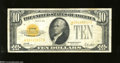 Small Size:Gold Certificates, Fr. 2400* $10 1928 Gold Certificate. Very Fine....