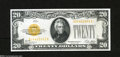 Small Size:Gold Certificates, Fr. 2402 $20 1928 Gold Certificate. Choice Crisp Uncirculated....