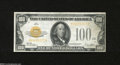 Small Size:Gold Certificates, Fr. 2405 $100 1928 Gold Certificate. Extremely Fine....