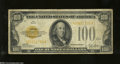 Small Size:Gold Certificates, Fr. 2405 $100 1928 Gold Certificate. Very Good-Fine....