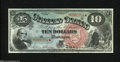 Large Size:Legal Tender Notes, Fr. 96 $10 1869 Legal Tender Gem New....