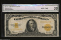 Large Size:Gold Certificates, Fr. 1173 $10 1922 Gold Certificate CGA Graded Very Fine 25....