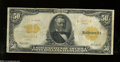 Large Size:Gold Certificates, Fr. 1199 $50 1913 Gold Certificate Very Good-Fine....