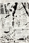 Original Comic Art:Panel Pages, Don Heck and Wally Wood The Avengers #21 Story Page 4 Power Man Original Art (Marvel, 1965)....