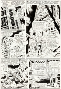 Don Heck and Wally Wood The Avengers #21 Story Page 4 Power Man Original Art (Marvel, 1965)