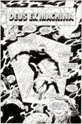 Original Comic Art:Splash Pages, Mike Allred Madman Comics #2 Splash Page 1 Original Art (Dark Horse, 1994)....