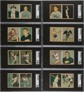 Baseball Cards:Sets, 1951 Berk Ross Panel Complete Set (36). ...