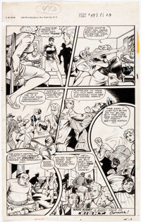 Iger Studio Fight Comics #54 Page 24 Original Art (Fiction House, 1948)