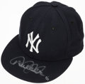 Baseball Collectibles:Hats, Derek Jeter Signed Limited Edition New York Yankees Hat....