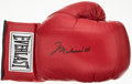 Boxing Collectibles:Autographs, Muhammad Ali Signed Everlast Boxing Glove....
