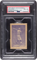 Baseball Cards:Singles (1930-1939), 1933 Uncle Jacks Candy Unopened Pack Rogers Hornsby PSA NM-MT 8. ...
