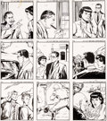 Original Comic Art:Complete Story, Whitman Artist Superman Smashes the Secret of the Mad Director Complete Set of 150 Paperback Illustrations Origina...
