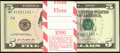 Fr. 1996-F* $5 2013 Federal Reserve Notes. Ninety-nine Consecutive Examples. Gem Crisp Uncirculated