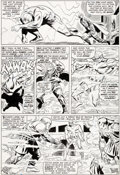Original Comic Art:Panel Pages, Don Heck and Frank Giacoia Avengers #28 Goliath Original Art (Marvel, 1966)....
